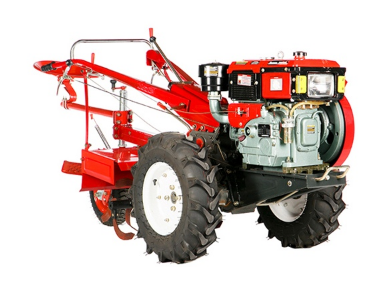 Micro Trator Toyama Diesel 13 HP TDWT73 com Enxada Rotativa