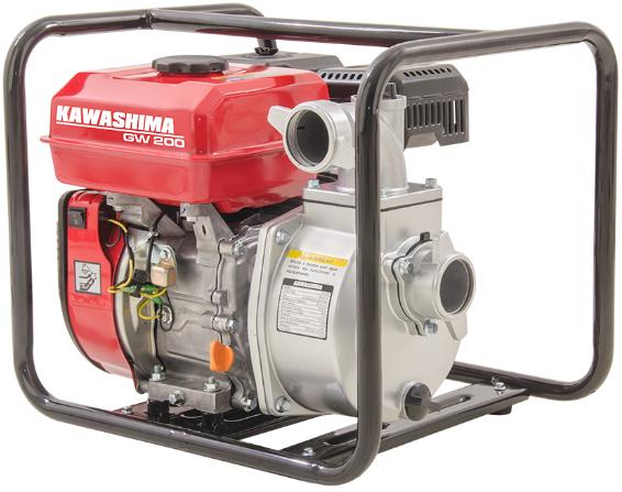 Motobomba Kawashima a Gasolina GW 200