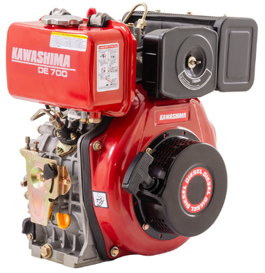 Motor Estacionário Kawashima DE 700 a Diesel