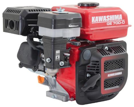 Motor Estacionário Kawashima GE 700-O a Gasolina / Filtro de Ar Banhado a Óleo