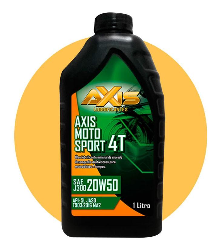 Óleo Axis Moto Sport  20W50 1 Litro