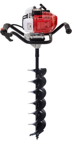 Perfurador de Solo Kawashima ED2 52-BD com Broca 200mm x 800mm