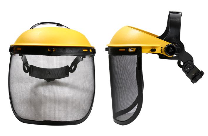 Protetor Facial com Tela para uso com Roçadeiras e Motosserras