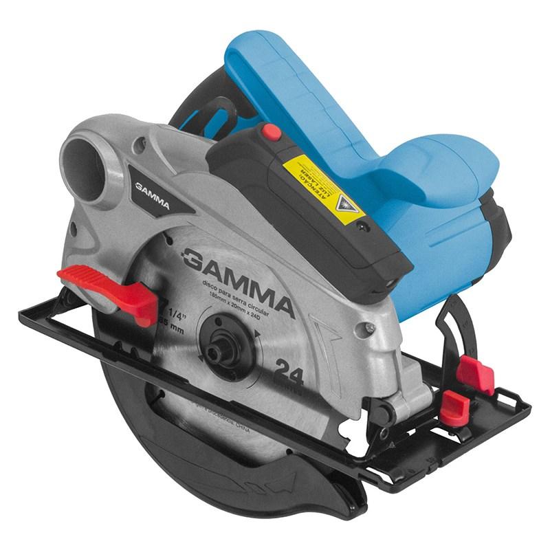 Serra Circular Gamma com Laser 1300 W  7 1/4