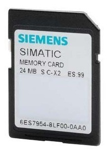 Memória Siemens Simatic 24mb 6es7954-8lf03-0aa0 Clp