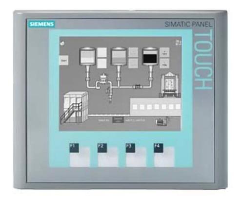 Siemens 6av6642-0bc01-1ax1 Simatic Tp177b Dp-6 Mstn