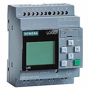 Siemens 6ed1 052-1hb08-0ba0 Logotipo! 24rce Di8/do4