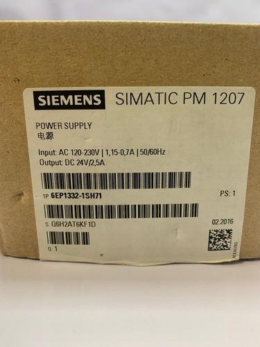 Siemens 6ep1332-1sh71 S7-1200 Fonte 120/230vac 2,5 Pm1207