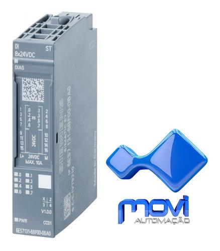 Siemens 6es7131-4bd01-0aa0 Módulo De Entrada Digital Et200s