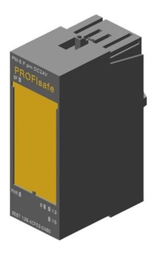 Siemens 6es7138-4cf03-0ab0 Et200 Módulo Potência Prova Falha