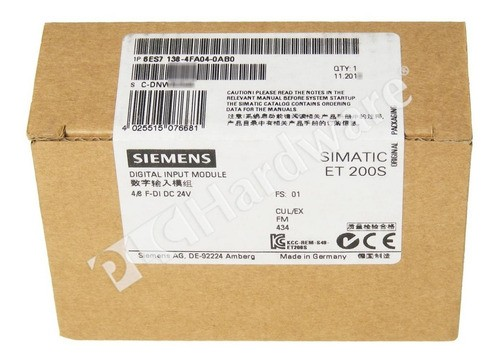 Siemens 6es7138-4fa04-0ab0 Et200s