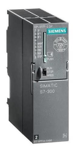 Siemens 6es7317-6ff04-0ab0 S7-300f Cpu317f-2 Dp,mpidp,1,5 Mb