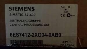 Siemens 6es7412-2xg04-0ab0 Simatic S7-400 Cpu412-2 Mpi /dp