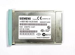 Siemens 6es7952-1al00-0aa0 Cartão De Memória Ram