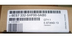 Siemens 6es7 332-5hf00-0ab0 Sm332 Anal Cur / Volt, 8 Pontos