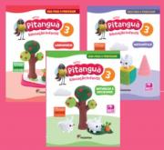 Coleção de 3 Livros - Novo Pitanguá 3 - Linguagem, Matemática, Natureza e Sociedade