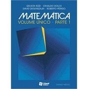 Matemática - Ensino Médio - Volume Único