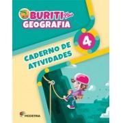 Projeto Buriti - Geografia PLUS - CADERNO DE ATIVIDADES - 4º ano - 1ª edição