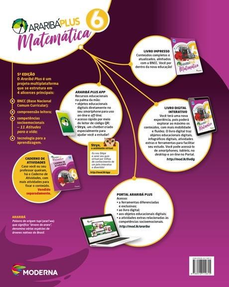 Araribá Plus - Matemática - 6º ano - 5a edição