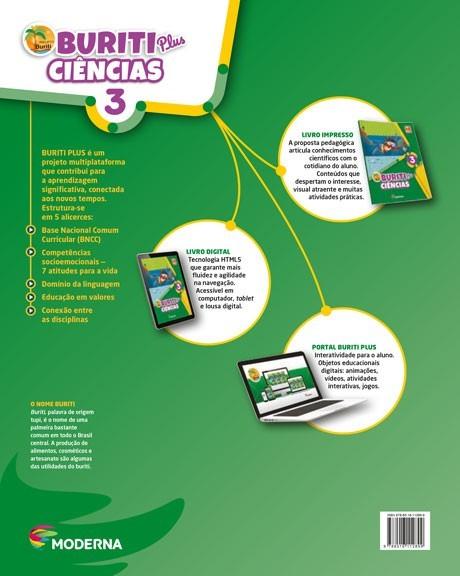 Projeto Buriti - Ciências PLUS - 3º ano - 1ª edição