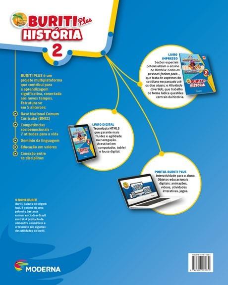 Projeto Buriti - História PLUS - 2º ao - 1ª edição