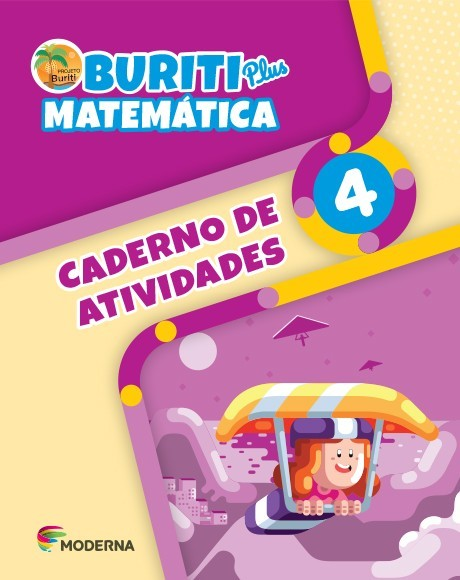 Projeto Buriti - Matemática PLUS - CADERNO DE ATIVIDADES - 4º ano - 1ª edição