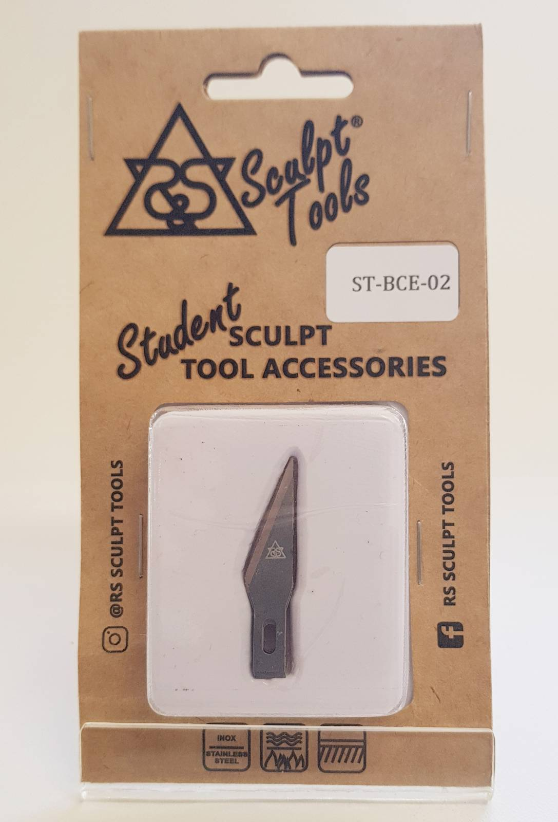 Blister with five blades for precision stylus