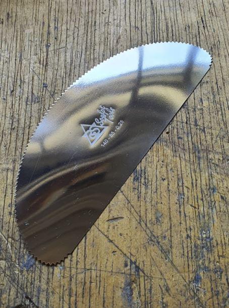 Stainless steel slick - ST-140-55-BDG