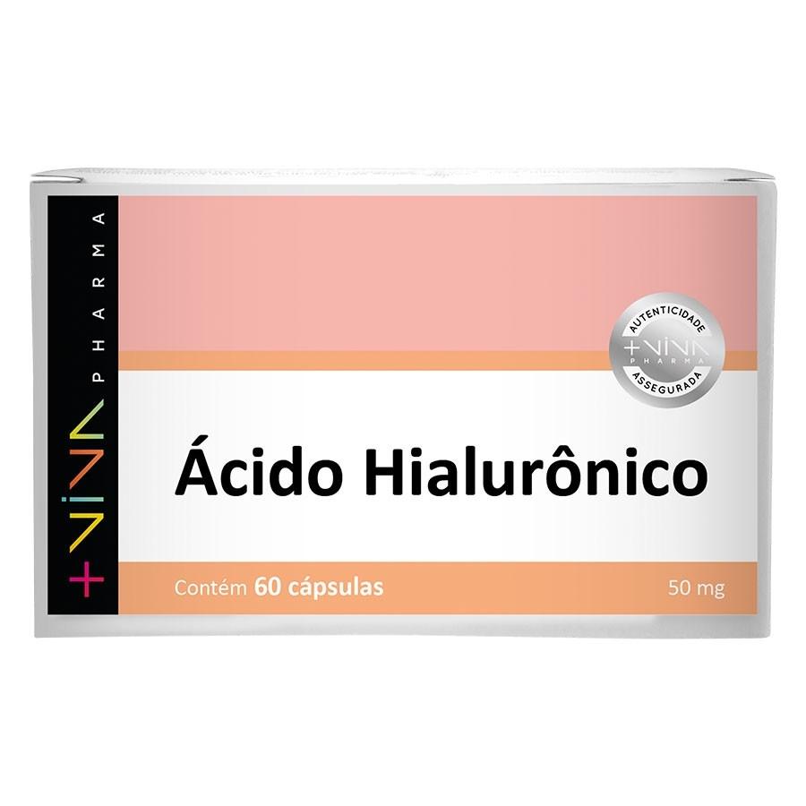 Ácido Hialurônico 50mg 60Cápsulas