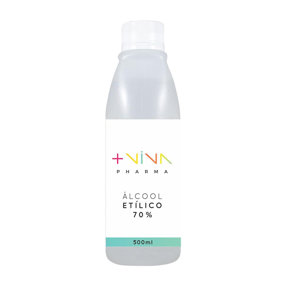 Álcool Etílico 70% 500ml