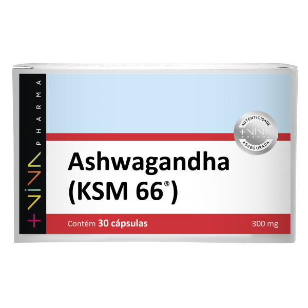 Ashwagandha - KSM 66® 300mg 30 Cápsulas