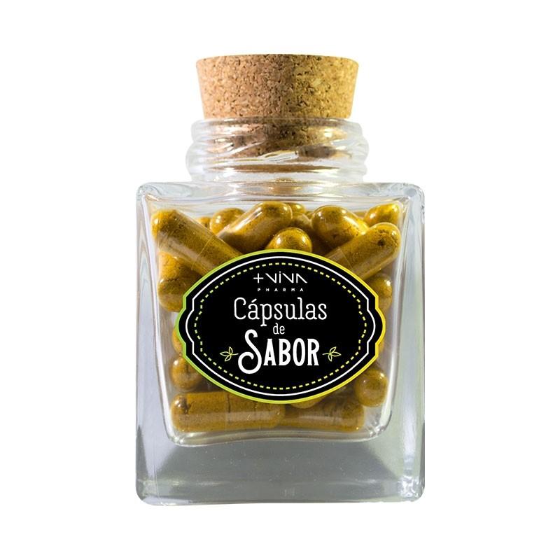 Cápsulas de Sabor - Açafrão (50 cápsulas)