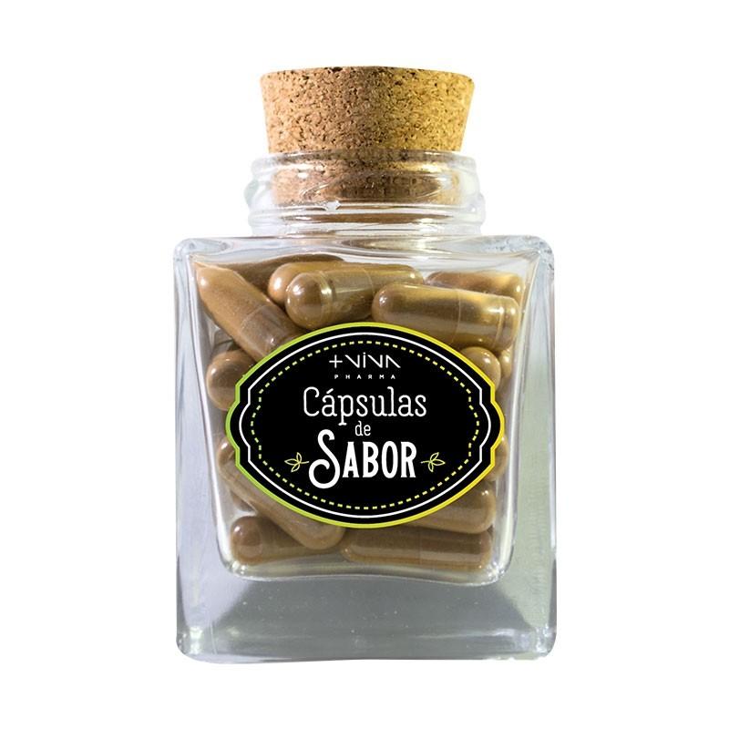 Cápsulas de Sabor - Canela (50 cápsulas)