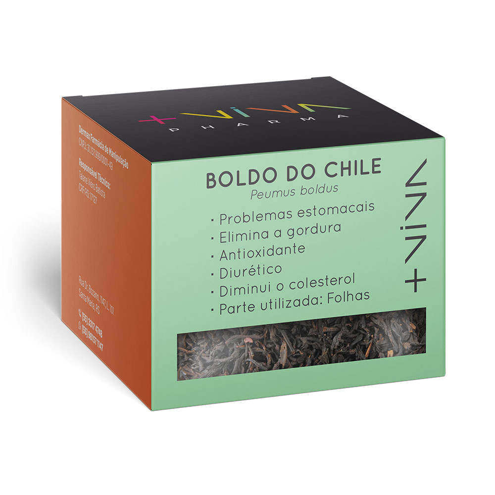 Chá de Boldo do Chile 20g