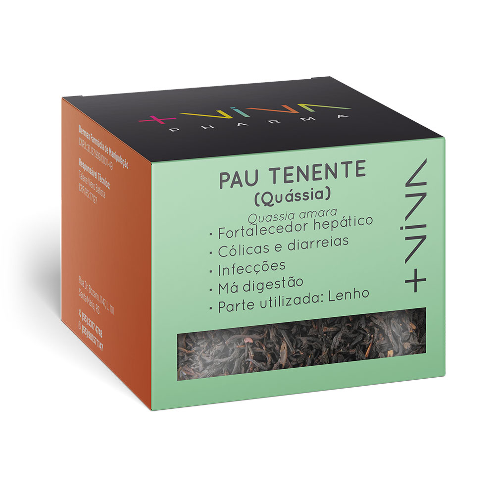 Chá Pau Tenente (Quássia) 20g