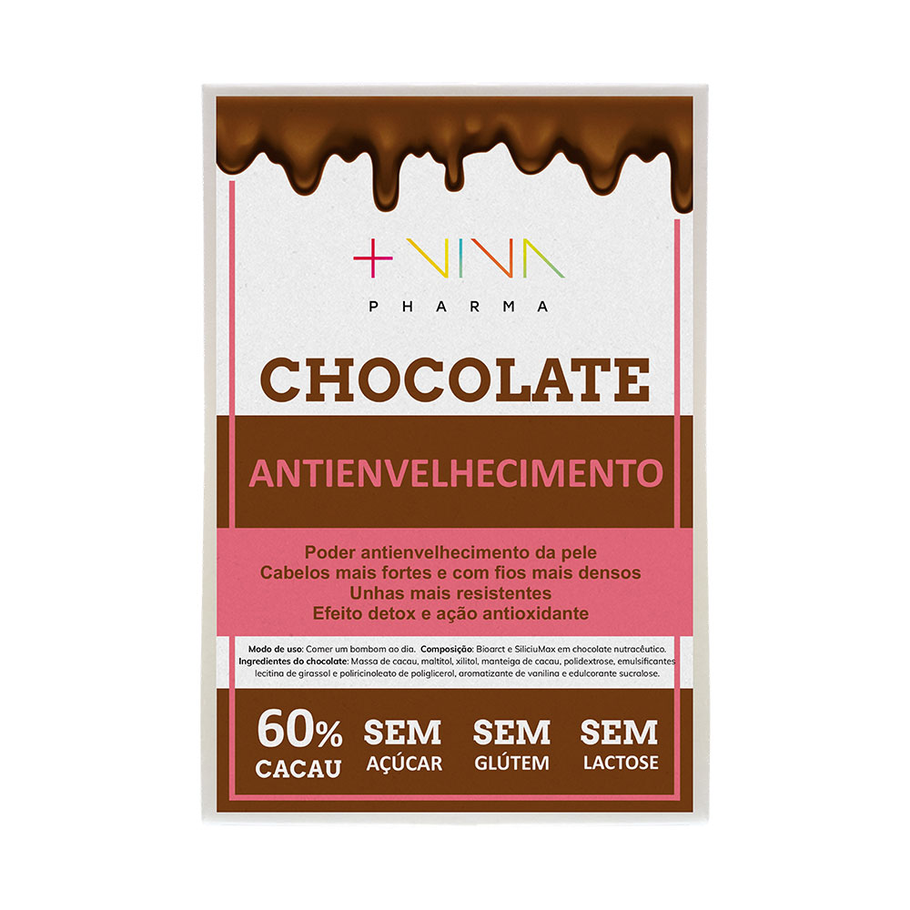Chocolate Antienvelhecimento