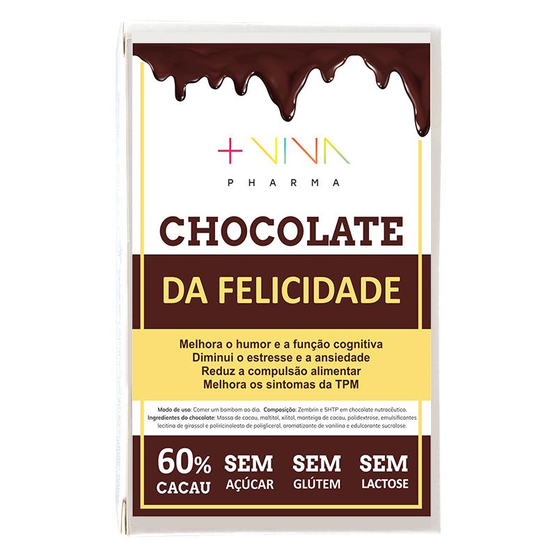 Chocolate da Felicidade - 15 bombons