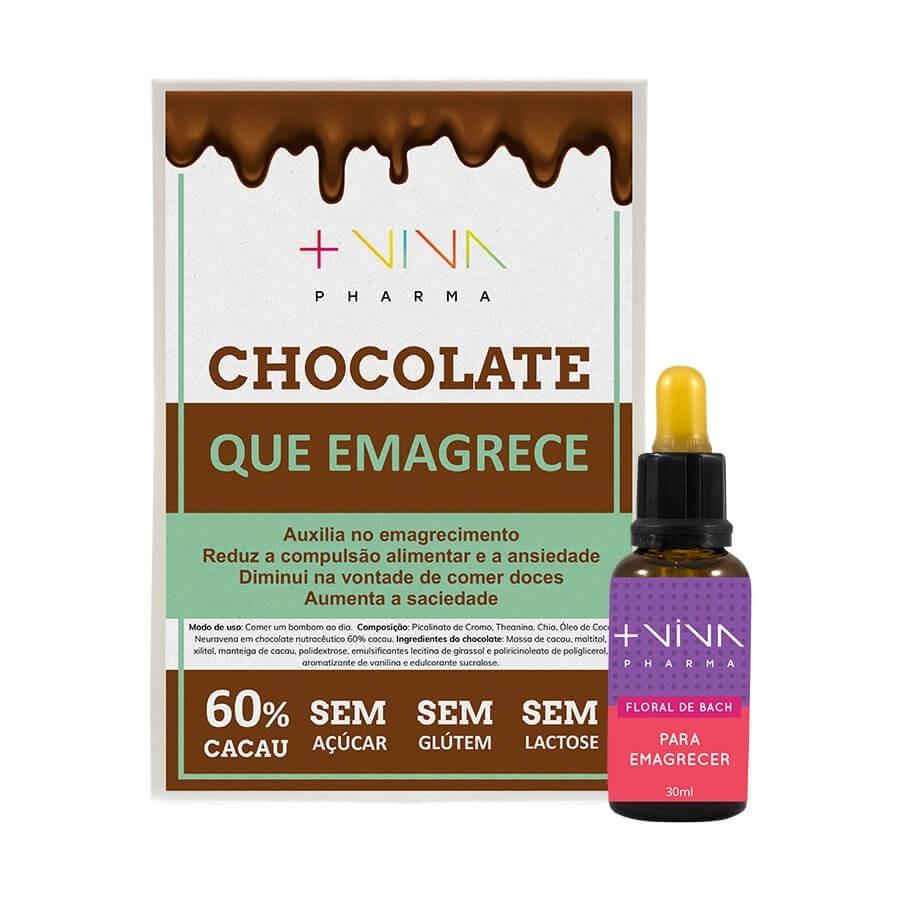 Chocolate que Emagrece + Floral de Bach Para Emagrecer