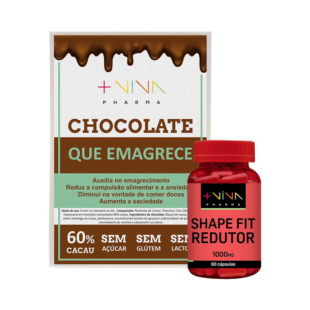 Chocolate que Emagrece + Shape Fit