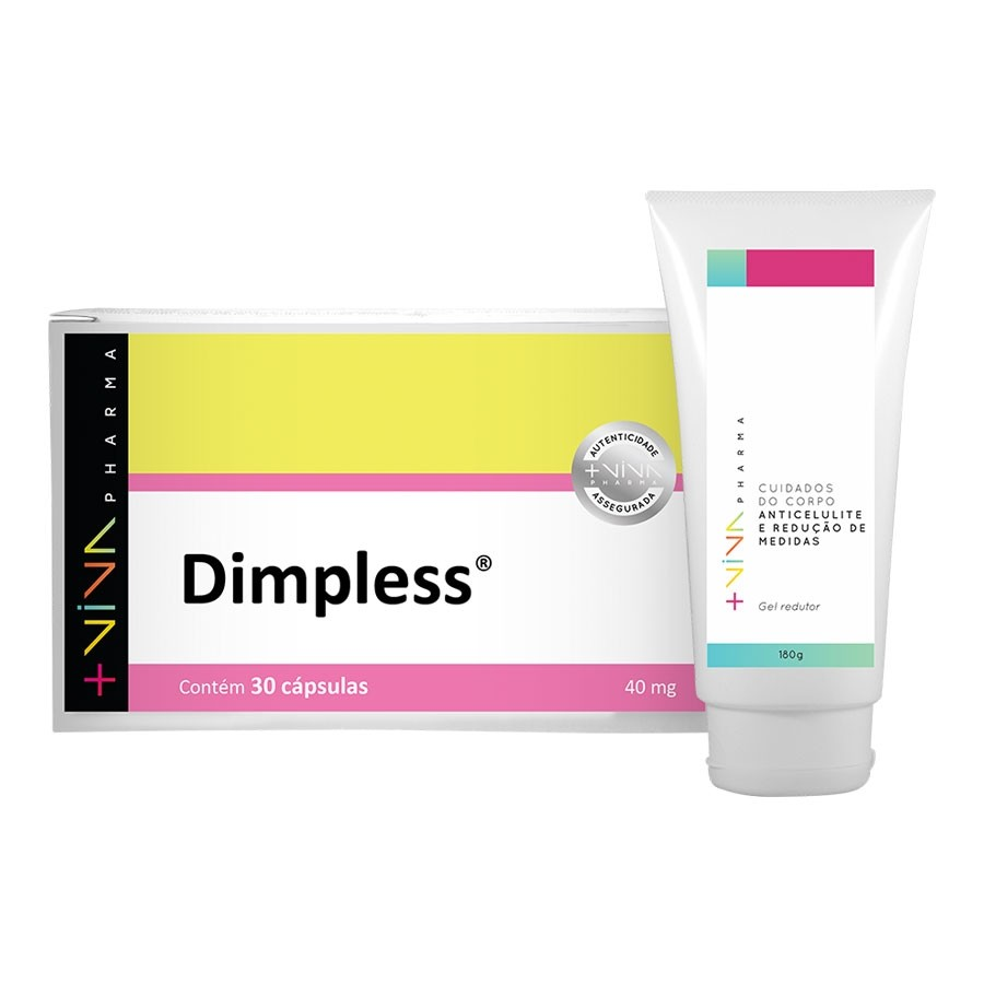COMBO | Dimpless® 40mg + Gel Anticelulite Redutor