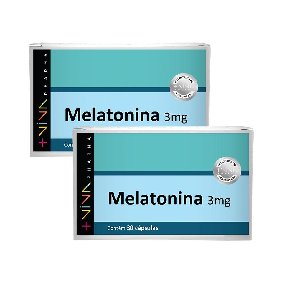 COMBO | Melatonina 3mg (2 unidades)
