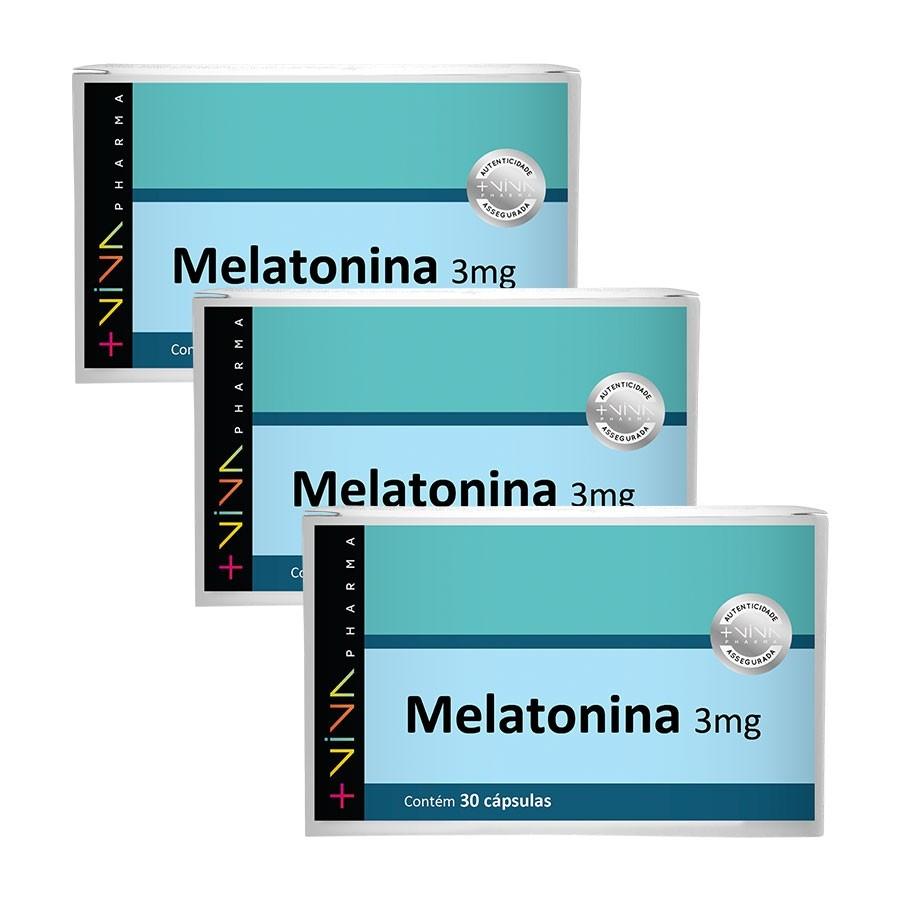 COMBO| Melatonina 3mg (3 Unidades)