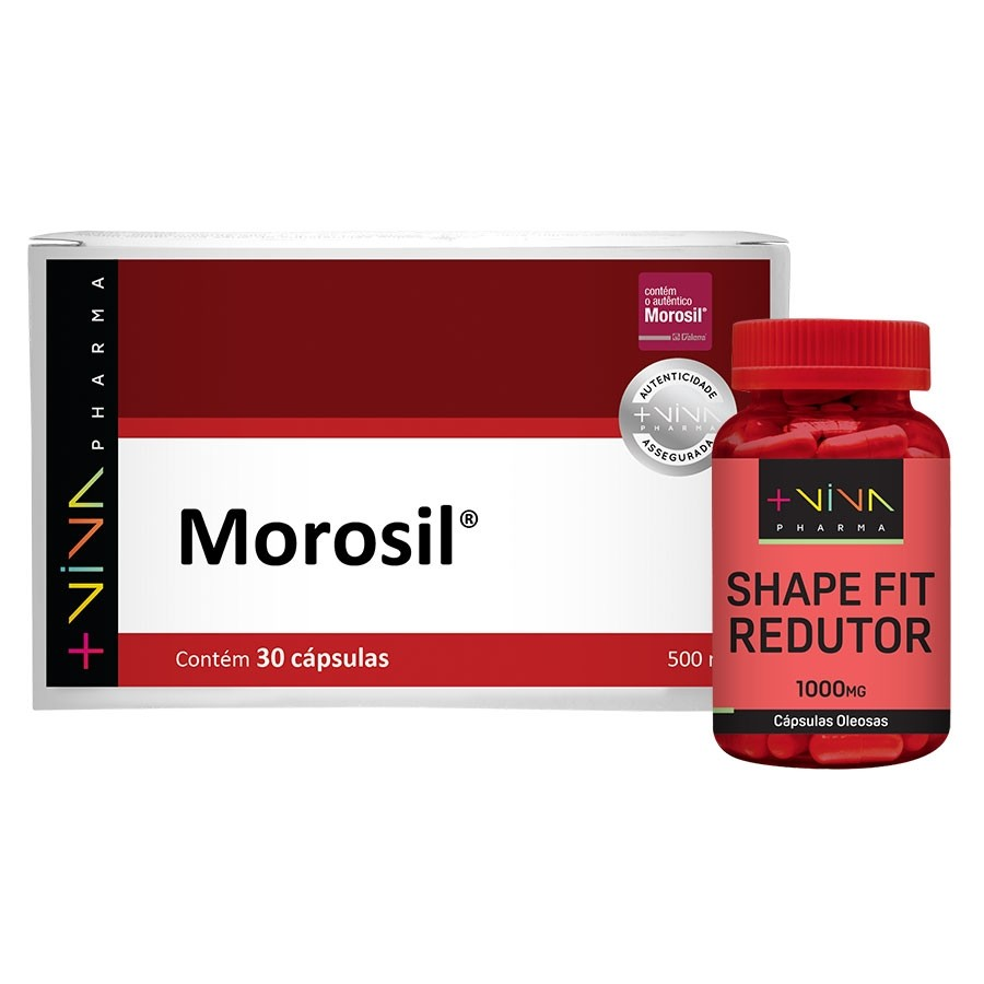 COMBO | Morosil 500mg® + Shape Fit Redutor
