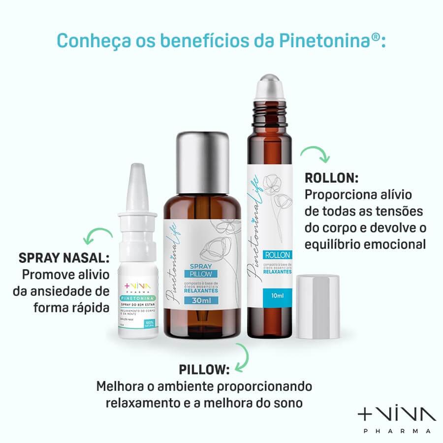 COMBO  Pinetonina - Linha Completa