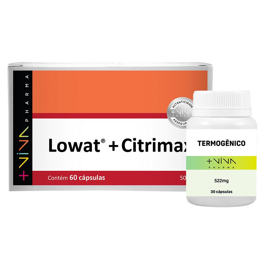 COMBO | Termogênico + Lowat® + Citrimax® 500mg
