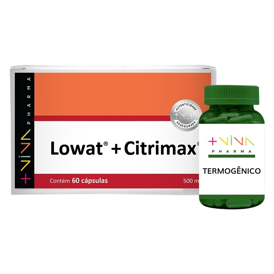 COMBO | Termogênico + Lowat® + Citrimax® 500mg