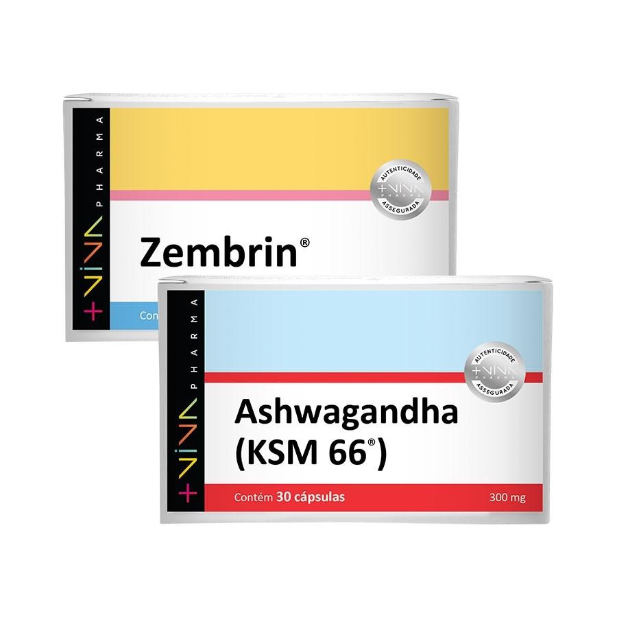COMBO |  Zembrin® + Ashwagandha - KSM 66® 300mg