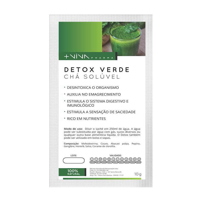 Detox Verde Chá Solúvel 10g