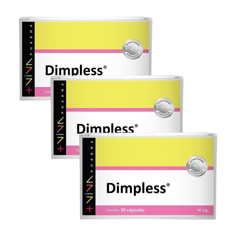 Dimpless® 40mg 30 Cápsulas (3 Unidades)