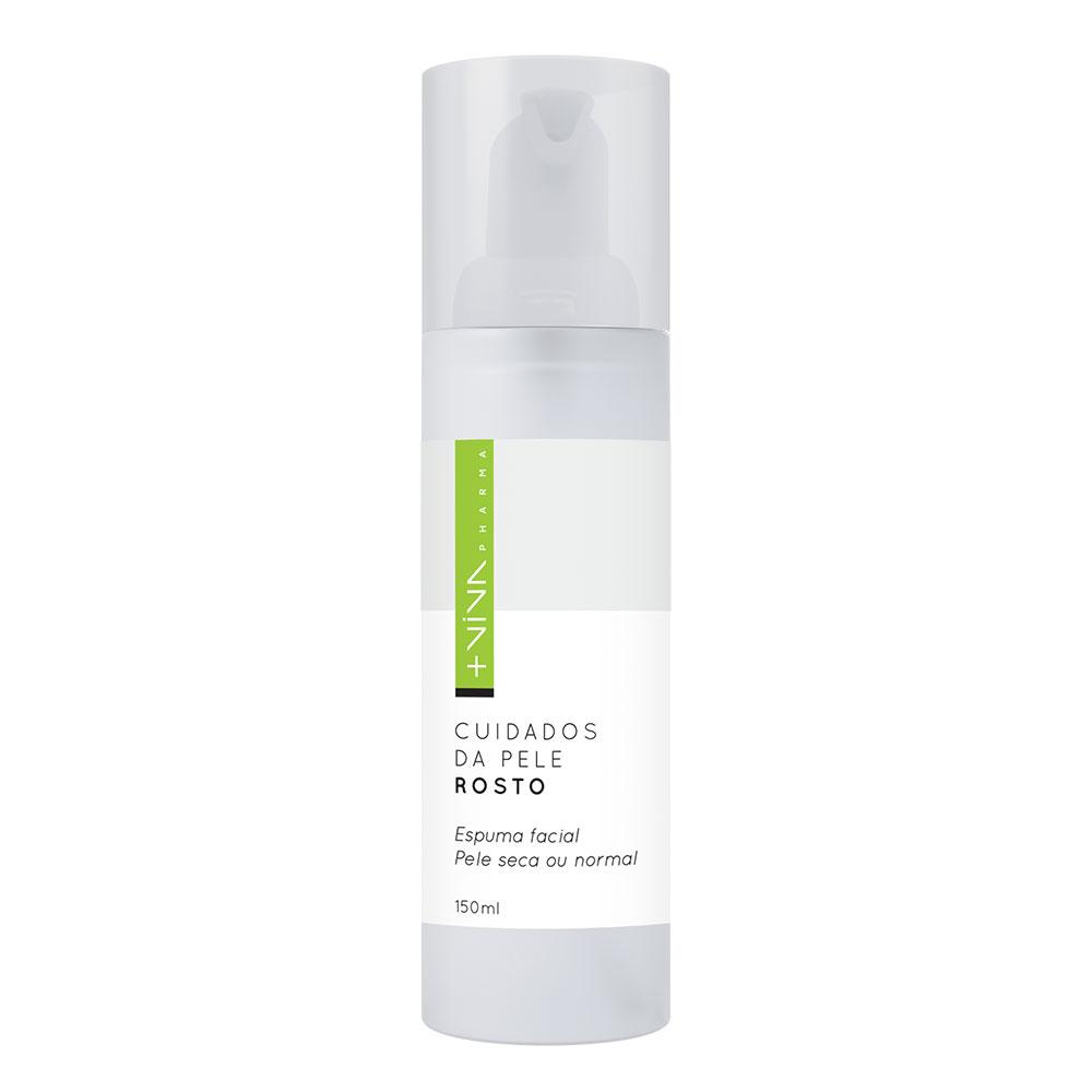 Espuma Facial - Pele seca ou normal 150ml